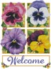 Pretty Pansies - Cross Stitch Chart