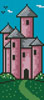 Princess Castle Bookmark - Cross Stitch Chart