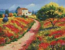 Provencal House - Cross Stitch Chart