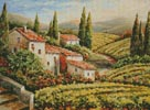 Provence Vineyard - Cross Stitch Chart