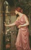 Psyche entering Cupid's Garden - Cross Stitch Chart