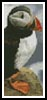 Puffin Bookmark - Cross Stitch Chart