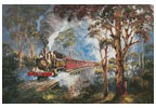 Puffing Billy - Cross Stitch Chart
