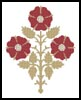 Pugin Design 2 - Cross Stitch Chart