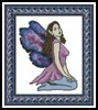Purple Fairy - Cross Stitch Chart