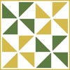 Quilt Square 2 - Cross Stitch Chart