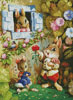 Rabbit Singing - Cross Stitch Chart