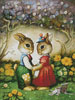 Rabbits New Hat - Cross Stitch Chart