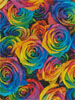 Rainbow Roses (Crop 2) - Cross Stitch Chart