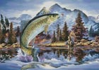 Rainbow Trout - Cross Stitch Chart