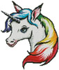 Rainbow Unicorn - (Facebook Group) Cross Stitch Chart