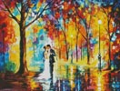 Rainy Wedding - Cross Stitch Chart
