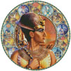 Rameses II Circle (Right) - Cross Stitch Chart
