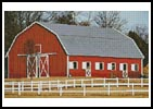 Red Barn - Cross Stitch Chart