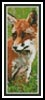 Red Fox Bookmark - Cross Stitch Chart