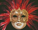 Red Mask - Cross Stitch Chart