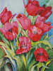 Red Tulips - Cross Stitch Chart