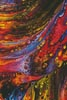 Red, Yellow and Blue Abstract Painting - Cross Stitch Chart