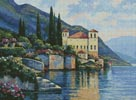 Reflections of Lago Maggiore - Cross Stitch Chart
