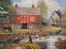 Reflections on Country Living - Cross Stitch Chart