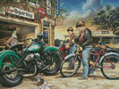 Repair Shop - Cross Stitch Chart