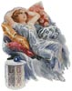 Resting - Cross Stitch Chart