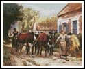 Returning from the Fields - Cross Stitch Chart