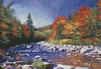 River of Autumn Colors - Cross Stitch Chart