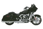 Harley Road Glide - Cross Stitch Chart