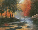 Rocks and Stream (Large) - Cross Stitch Chart