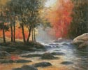 Rocks and Stream - Cross Stitch Chart