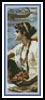 A Roman Boat Race Bookmark - Cross Stitch Chart