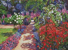 Romantic Garden Walk - Cross Stitch Chart
