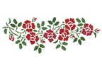 Rose Garland - Cross Stitch Chart