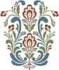 Rosemaling 10 - Cross Stitch Chart