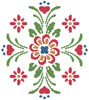 Rosemaling 2 - Cross Stitch Chart