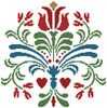 Rosemaling 3 - Cross Stitch Chart