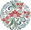Rosemaling 7 - Cross Stitch Chart