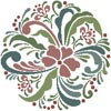 Rosemaling 8 - Cross Stitch Chart