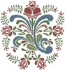 Rosemaling 9 - Cross Stitch Chart