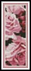 Roses Bookmark 2 - Cross Stitch Chart
