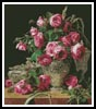Roses Painting - Cross Stitch Chart