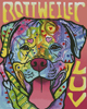 Rottweiler Luv - Cross Stitch Chart