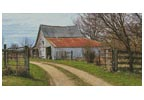 Rustic Barn - Cross Stitch Chart