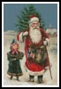 Santa and Girl - Cross Stitch Chart