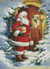 Santa at the Door - Cross Stitch Chart