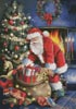 Santa at the Tree - Cross Stitch Chart