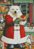 Santa Bear - Cross Stitch Chart
