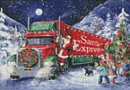 Santa Express - Cross Stitch Chart
