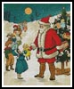 Santa Giving Presents - Cross Stitch Chart